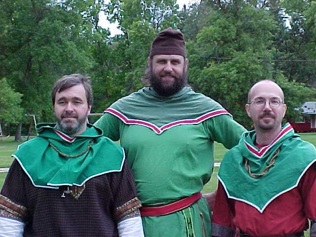 Sir Hreodbeorht of Harhun-dell - Baron Robin Arthur Kyrke - Sir Wulfgang von den Lowen